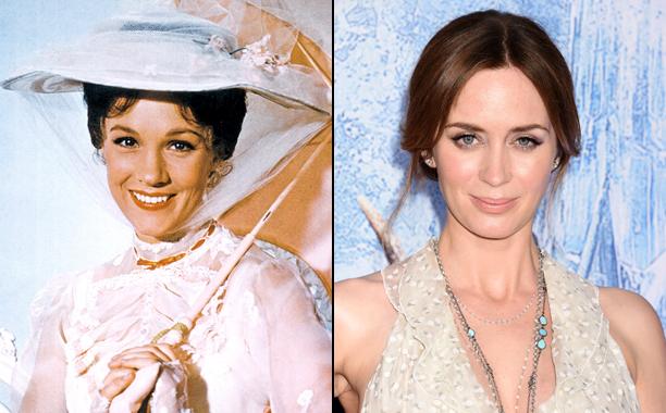 Mary Poppins (1964); Mary Poppins Returns (2018)