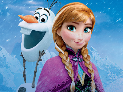 Frozen | ''She wishes,'' redheaded dream queen Princess Ariel might scoff. You just wanted to paint over Anna's chic/annoying platinum blonde streak — a childhood ''gift'' from…