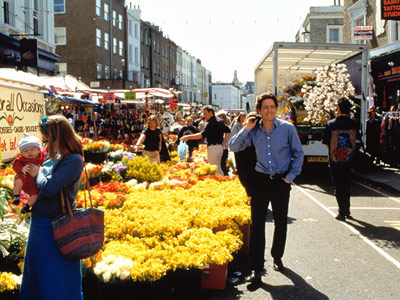 Notting Hill, Hugh Grant | Notting Hill, London Imagine: You're just a girl, standing in front of a quaint, affable London district. How can you not fall in love with…