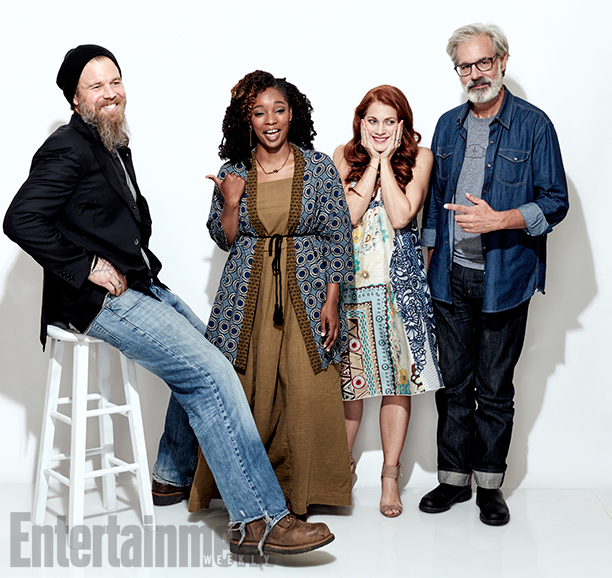 The cast of Outsiders