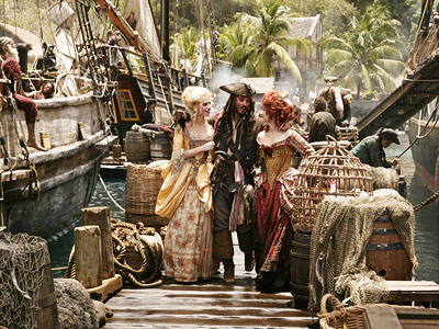 Pirates of the Caribbean: At World's End, Johnny Depp | The Caribbean, various ports If you're someone who seeks adventure, freedom, excitement, and a treasure chest, then find yourself a ship — preferably one that's…