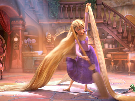 Tangled | Oh my God. MANAGE THIS MESS. Unbeweaveable.
