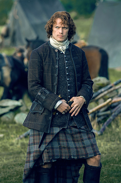 Sam Heughan, Outlander