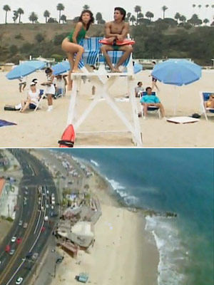 Saved by the Bell, Tiffani Thiessen | Malibu Sands, Calif. Looking to escape the Los Angeles crowds when the heat is on? Make the short drive to Malibu Sands, your friendly summer…
