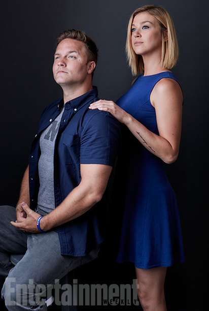Friday Night Lights stars Scott Porter and Adrianne Palicki