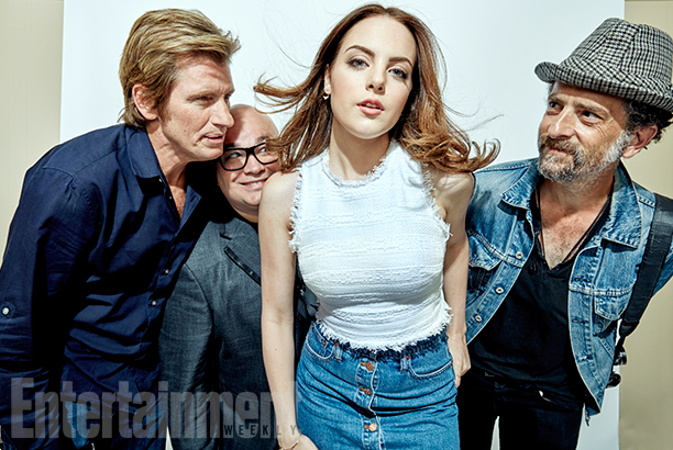 Sex&Drugs&Rock&Roll stars Dennis Leary, Bobby Kelly, Elizabeth Gillies, and John Ales