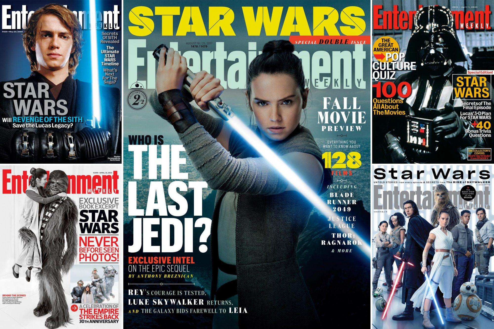 EW Star Wars Covers