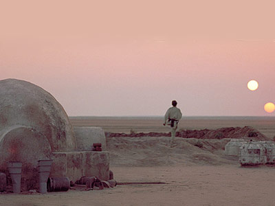 Star Wars: Episode IV - A New Hope | Tatooine If Las Vegas and Tijuana had an adulterous affair, the illegitimate child would look quite a bit like Tatooine. Ruled by mobsters and corrupt…