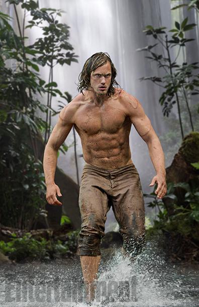 Alexander Skarsgård, The Legend of Tarzan, July 1