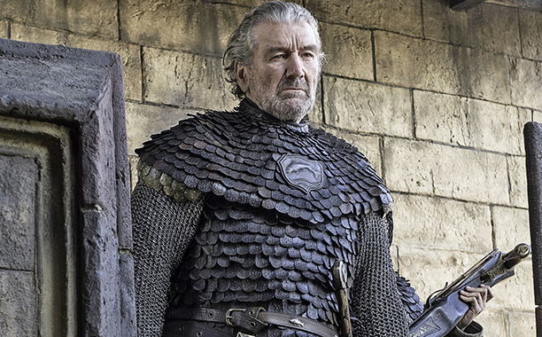 Clive Russell as Brynden 'Blackfish' Tully