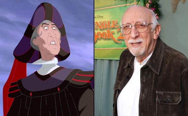 Judge Claude Frollo (Tony Jay)