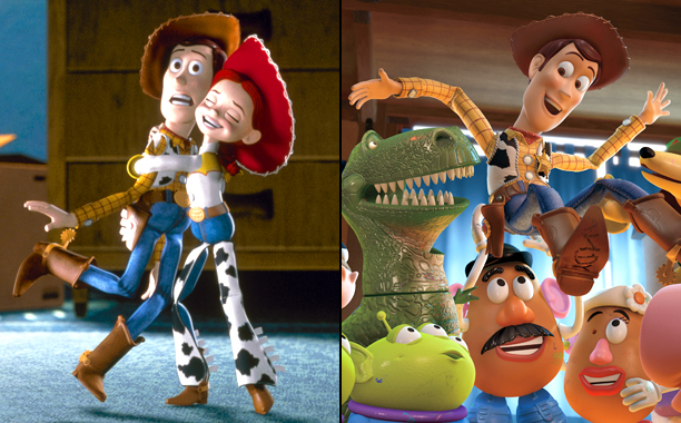Toy Story 2 (1999); Toy Story 3 (2010)