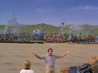 National Lampoon's Vacation, Chevy Chase | Walley World You watch his program, you buy his toys, you go to his movies...now check out Marty Moose's adventure theme park, Walley World! Rated…