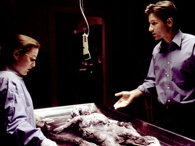 No conspiracy was too small for the investigators of the X-Files, the FBI's unsolved cases involving paranormal activity. Fox (David Duchovny) believed in aliens and…