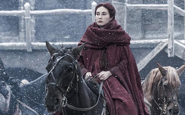 Melisandre returns to Castle Black