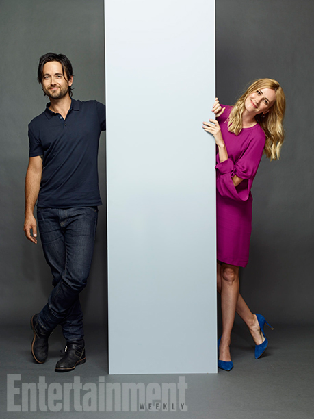 Justin Chatwin and Megan Ketch, 'American Gothic'