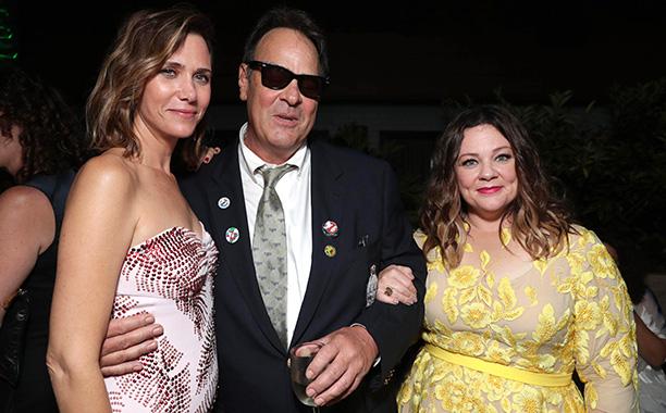 Kristen Wiig, Dan Aykroyd, and Melissa McCarthy