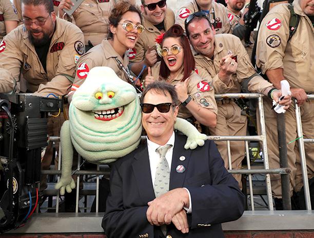 Dan Aykroyd With Ghostbusters Fans