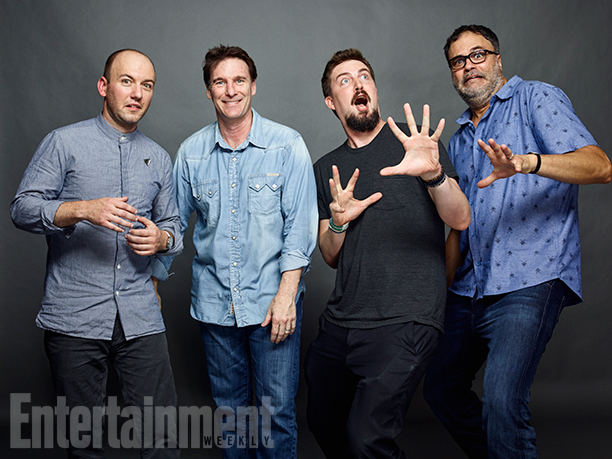 Simon Barrett, Dan Merrick, Adam Wingard, and Ed Sanchez, 'Blair Witch'