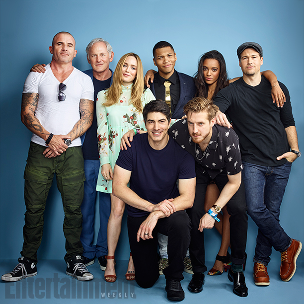 Dominic Purcell, Victor Garber, Caity Lotz, Brandon Routh, Franz Drameh, Arthur Darvill, Maisie Richardson-Sellers and Nick Zano, 'DC's Legends Of Tomorrow'