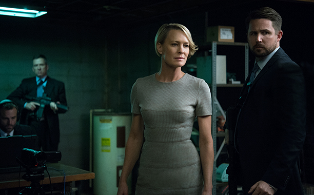 Robin Wright, Outstanding Lead Actress in a Drama Series, House of Cards (Netflix)