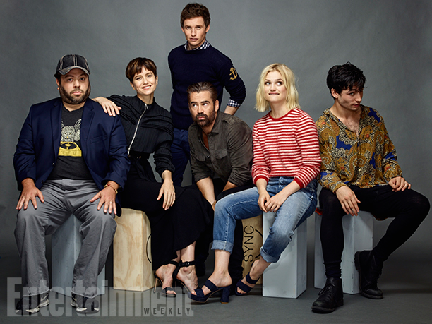 Dan Fogler, Katherine Waterston, Eddie Redmayne, Colin Farrell, Alison Sudol, and Ezra Miller, 'Fantastic Beasts and Where to Find Them'