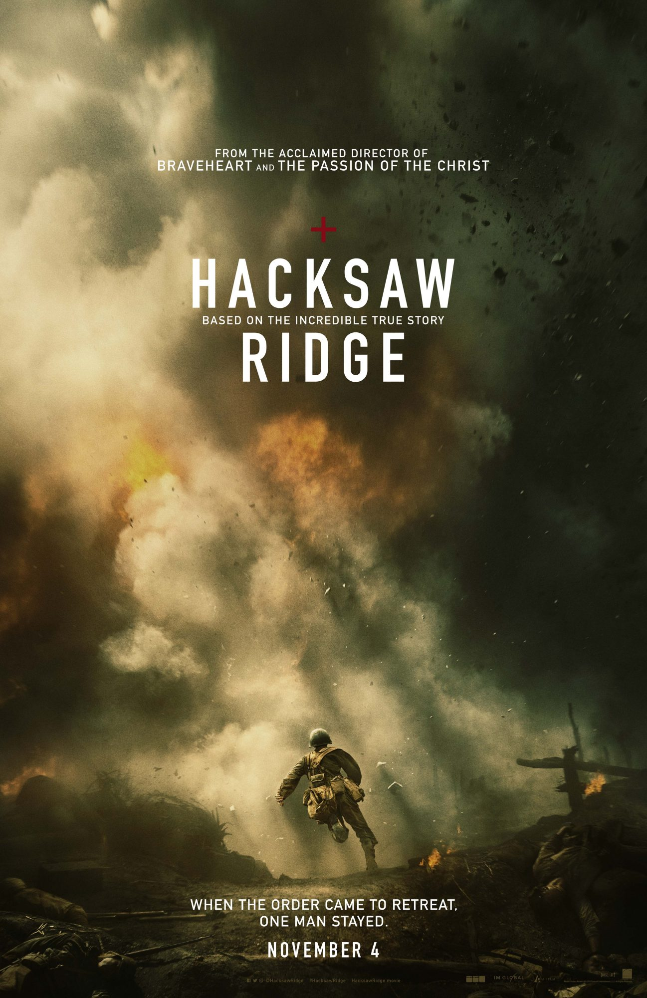 Mel Gibson S Hacksaw Ridge Releases New Poster Ew Com