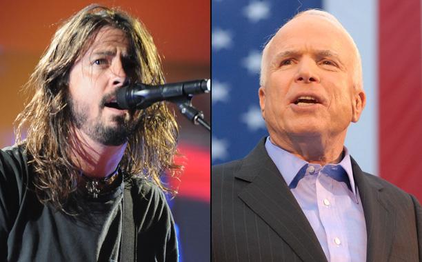 Foo Fighters vs. John McCain