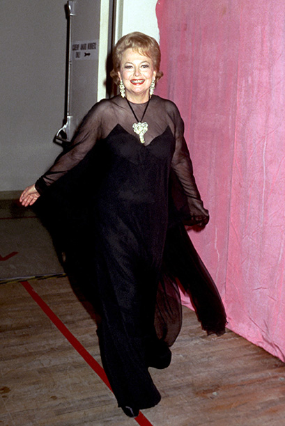 Olivia de Havilland at the 50th Annual Academy Awards on April 3, 1978