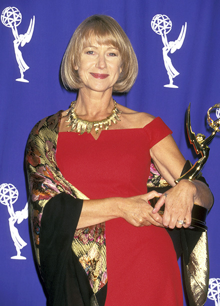 Outstanding Lead Actress in a Miniseries or a Special Winner Helen Mirren (Prime Suspect IV: Scent of Darkness)
