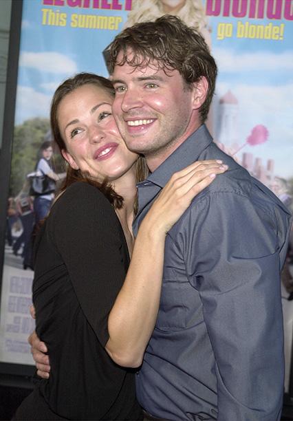 Scott Foley and Jennifer Garner