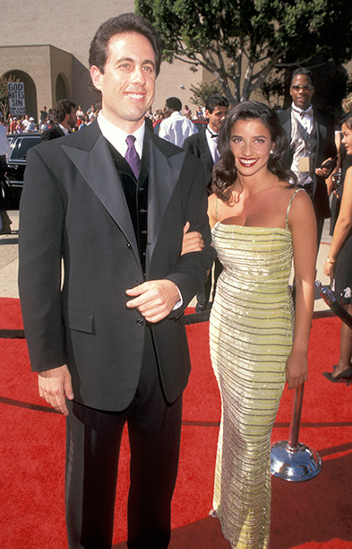 Outstanding Lead Actor in a Comedy Series Nominee Jerry Seinfeld (Seinfeld) and Then-Girlfriend Shoshanna Lonstein