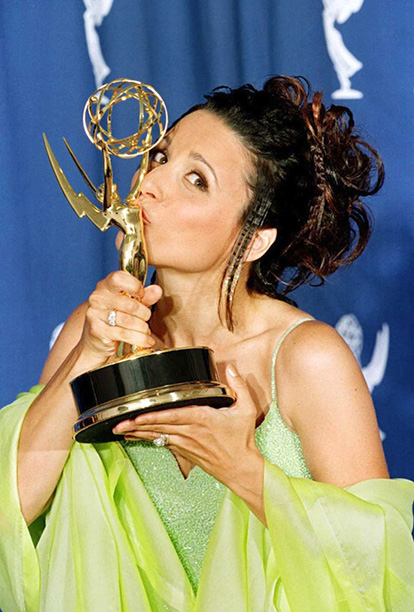 Outstanding Supporting Actress in a Comedy Series Winner Julia Louis-Dreyfus (Seinfeld)