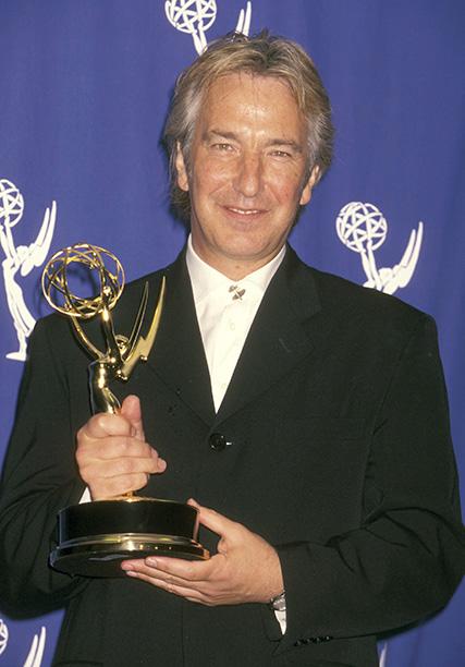Outstanding Lead Actor in a Miniseries or a Special Winner Alan Rickman (Rasputin: Dark Servant of Destiny)
