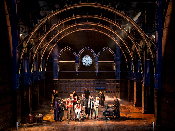 'The epilogue of 'Deathly Hallows' opens 'Cursed Child' as the Potters and Weasleys prepare to send their kids to Hogwarts