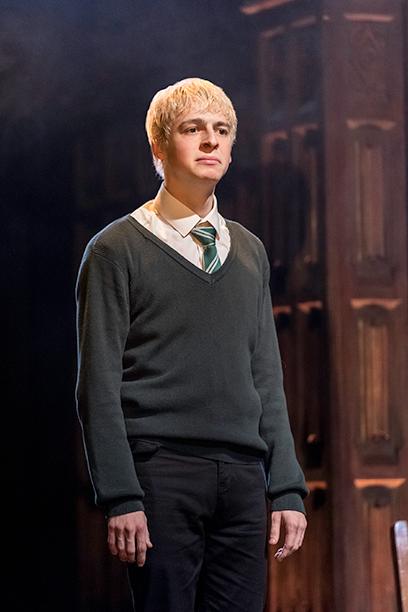 Scorpius dressed for Hogwarts