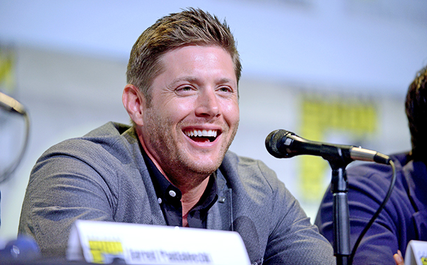 Jensen Ackles at the Supernatural Special Video Presentation and Q&A