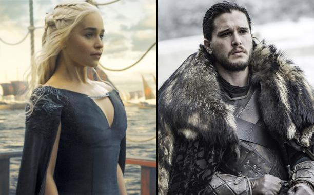 Jon Snow marries Dany