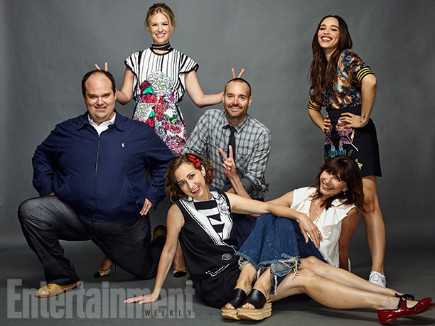 Mel Rodriguez, January Jones, Kristen Schaal, Will Forte, Mary Steenburgen, and Cleopatra Coleman, 'The Last Man on Earth'
