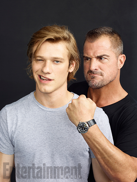 Lucas Till and George Eads, 'MacGyver'
