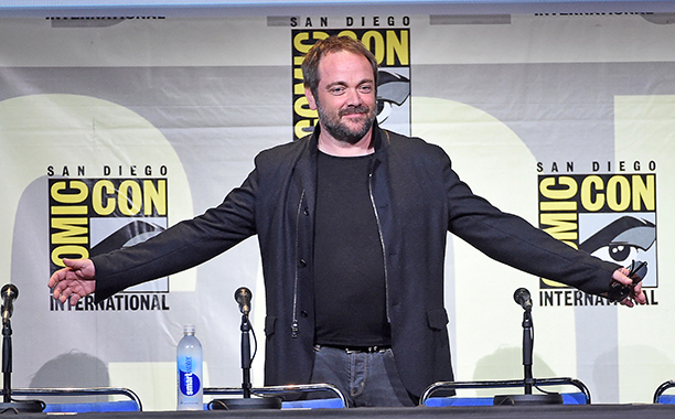 Mark Sheppard at the Supernatural Special Video Presentation and Q&A