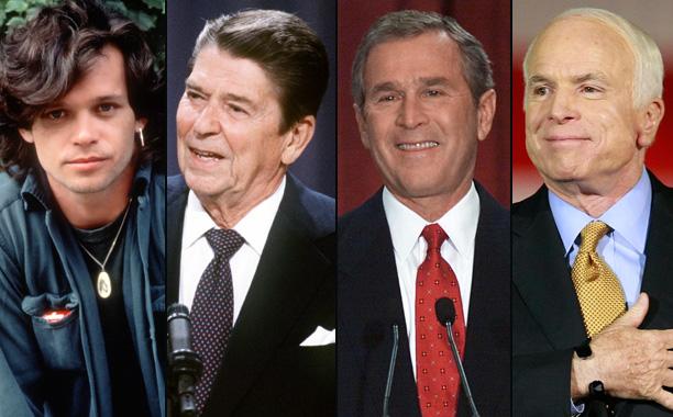 John Mellencamp vs. Ronald Reagan, George W. Bush, and John McCain