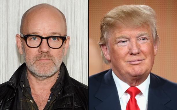R.E.M. vs. Donald Trump