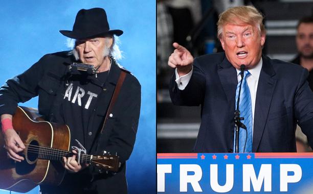 Neil Young vs. Donald Trump