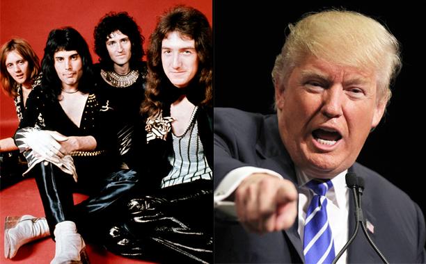 Queen vs. Donald Trump