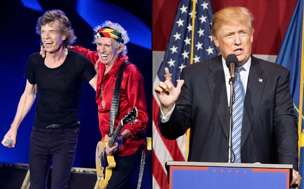 Rolling Stones vs. Donald Trump