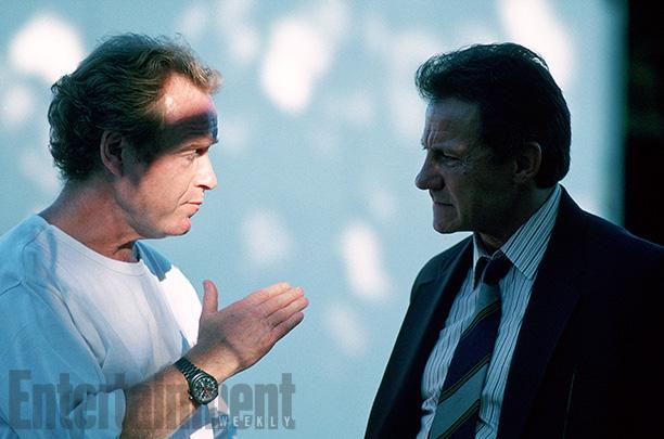 Ridley Scott With Harvey Keitel