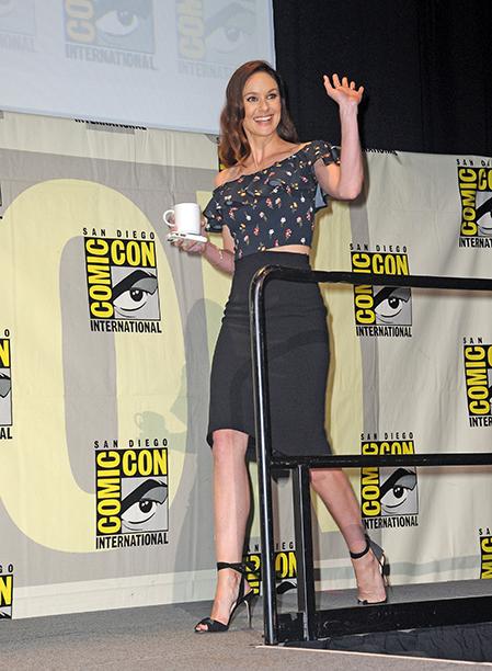 Sarah Wayne Callies at the Fox Action Showcase