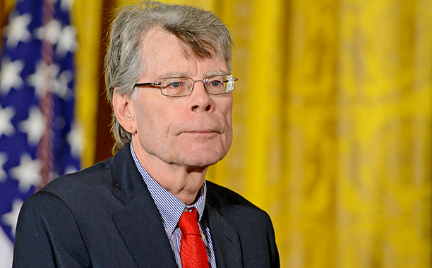 GALLERY: Literary Social Media Stars: ALL CROPS: 487651738 Stephen King with the 2014 National Medal of Arts at The White House on September 10, 2015 in Washington, DC. (Photo by Leigh Vogel/WireImage