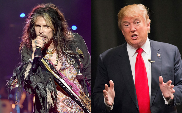 Steven Tyler vs. Donald Trump